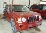 2008 JEEP PATRIOT SP #1265290193