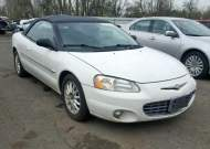2001 CHRYSLER SEBRING LX #1294444896