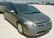 2007 HONDA CIVIC HYBR #1351002549