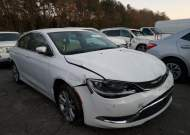 2015 CHRYSLER 200 LIMITE #1629503316