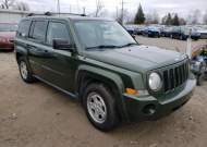 2009 JEEP PATRIOT SP #1632230106