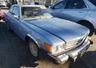 1976 MERCEDES-BENZ 450 SL #1632681219