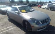 2004 INFINITI G35 COUPE W/LEATHER #1660627556